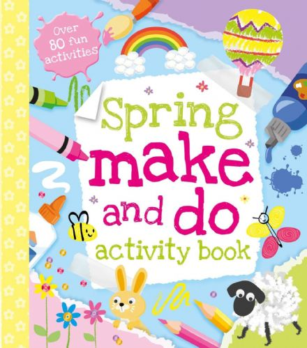 Spring Make and do Activity Book.